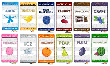 New BlogRush Flavors.