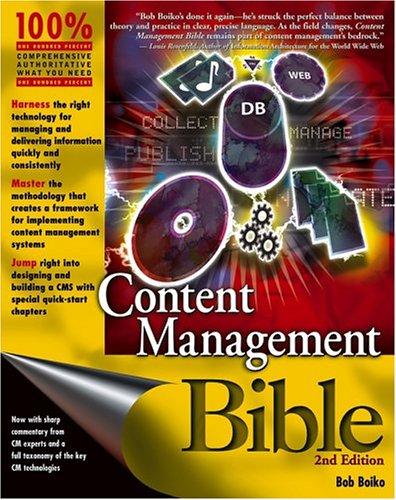 Content Management Bible book