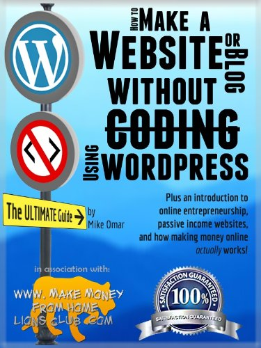 How to Make a Website or Blog Without Coding, Using WordPress