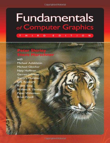 Fundamentals of Computer Graphics book